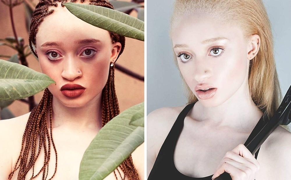 Мириан— модель-альбинос, редкая красота которой неоставляет равнодушных. Кроме того,