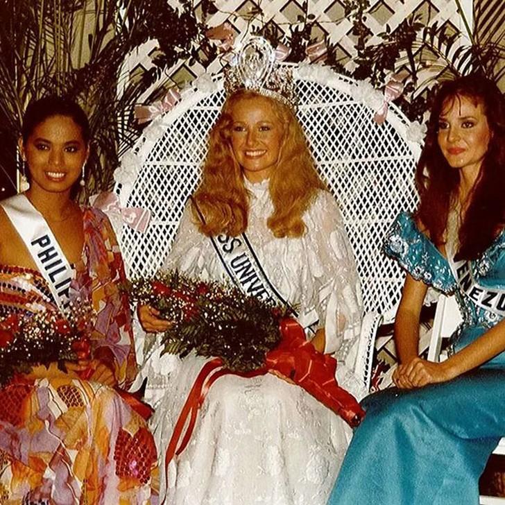 Ивонн Ридинг, Швеция. «Мисс Вселенная — 1984». 21 год, рост 170 см.