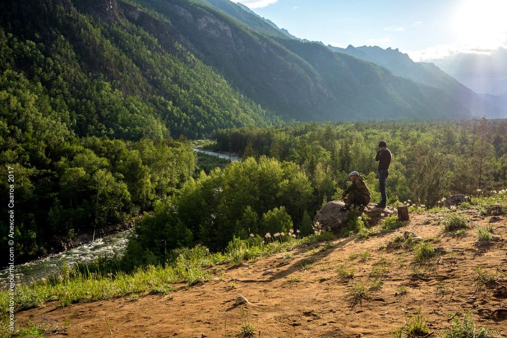 8. Вверх по Алле идут туристические тропы, если так красиво тут то представьте сколько красоты