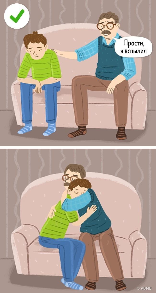 Мынероботы ииногда, оказываясь невсилах сдержать эмоций, срываемся насвоих детей. Вэтом нет н