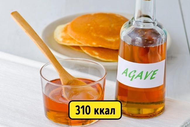 © depositphotos  Сироп агавы хоть икалорийный, ноонгораздо слаще сахара, азначит, его можн