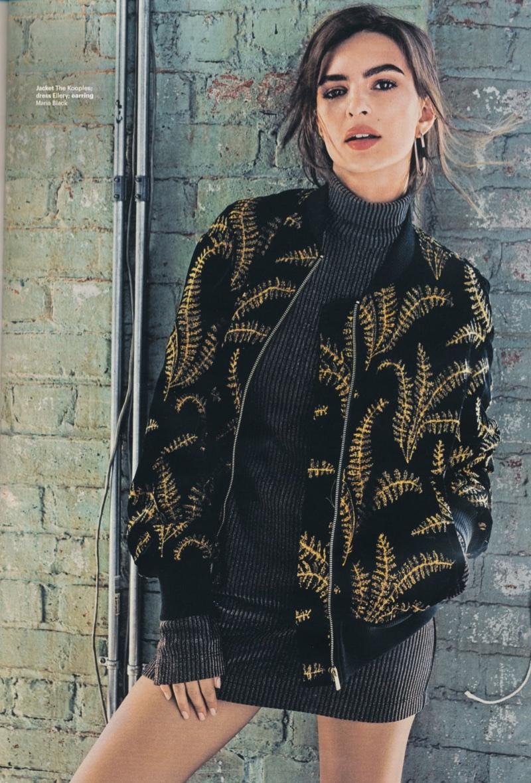 Эмили Ратаковски на обложке Glamour UK