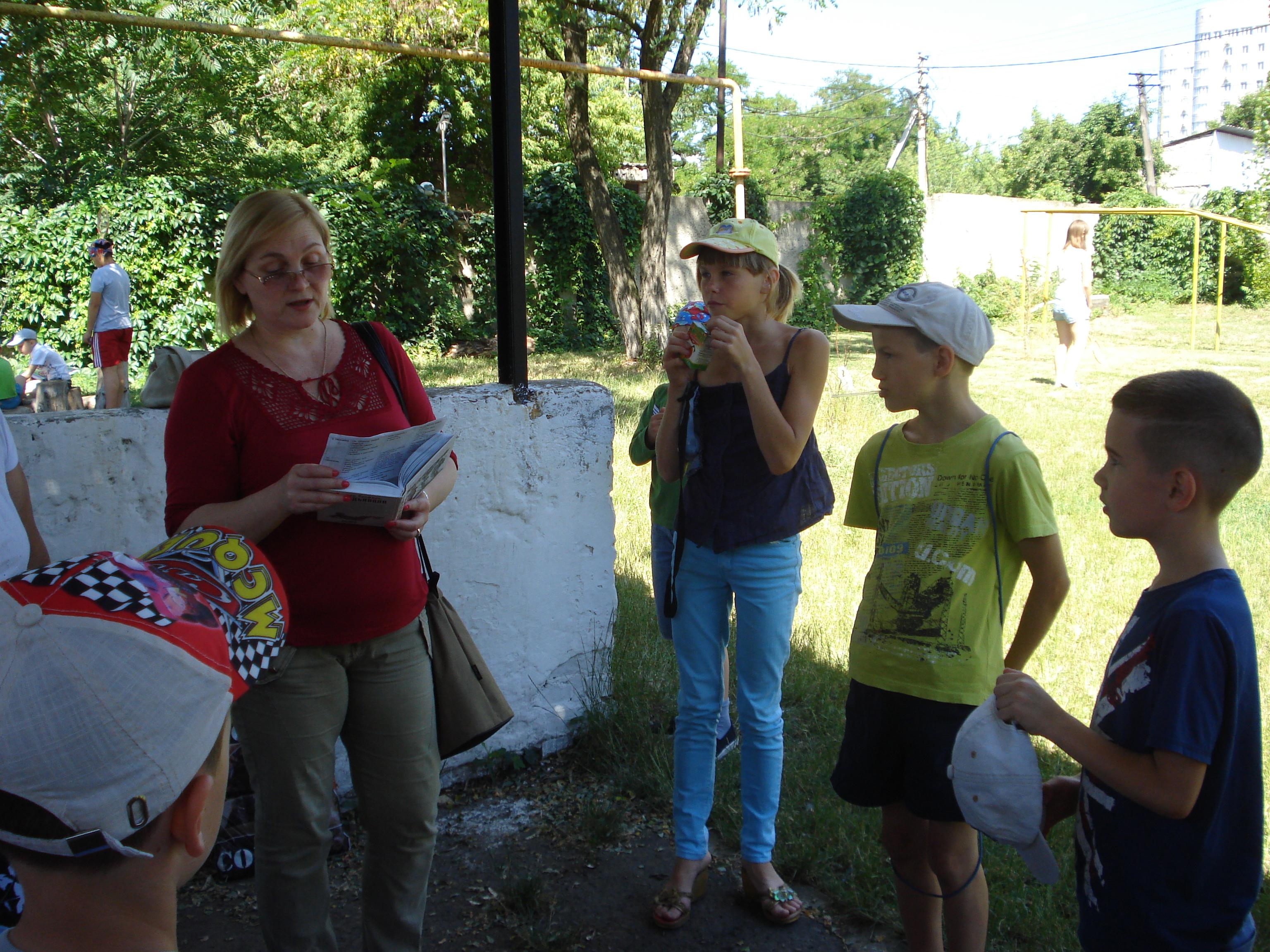 донецкая республиканская библиотека для детей, отдел обслуживания дошкольников и учащихся 1-4 классов, занятия с детьми