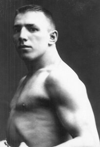 Портрет борца, участника чемпионата, Осипова.