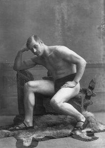 Портрет участника чемпионата Н.А.Быкова.