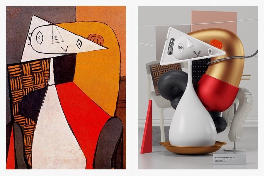 Пикассо, воссозданный в 3D