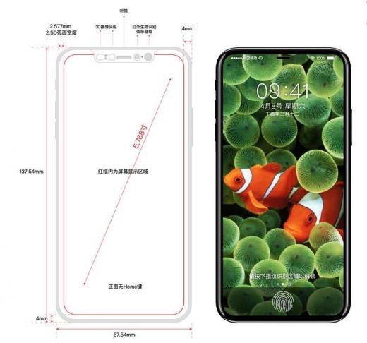 Компания Apple создаст iPhone 8 с непрерывным зарядом