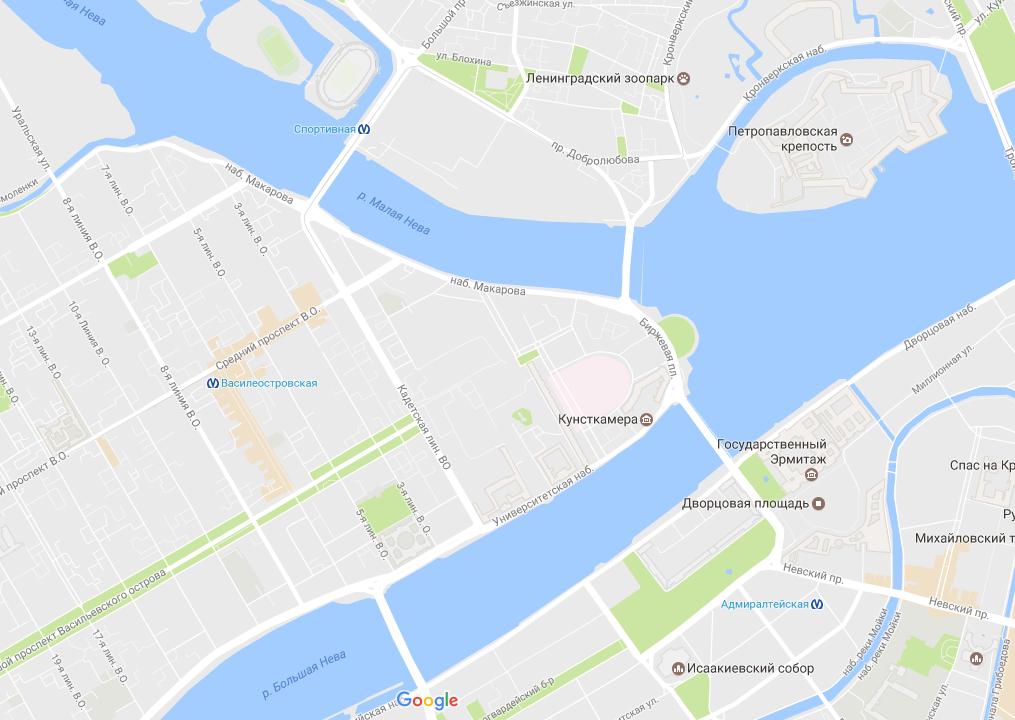 Тучков мост закроют до6мая