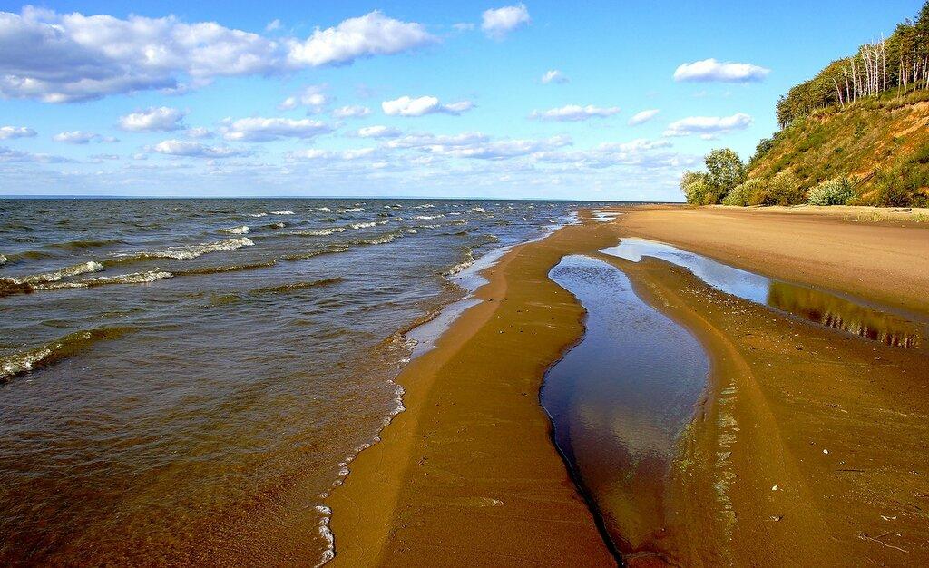 Куйбышевское море, Волга
