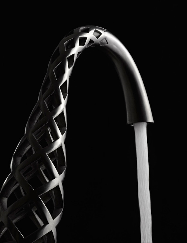 Unexpected 3D-Printed Faucets