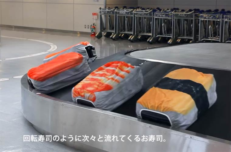 Sushi Suitcase – These cute covers will turn your suitcases into sushi (11 pics)