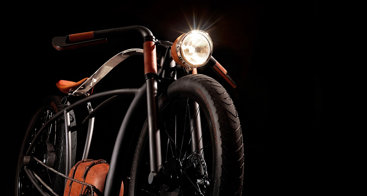 Beautiful Retro Style Electric Bicycle