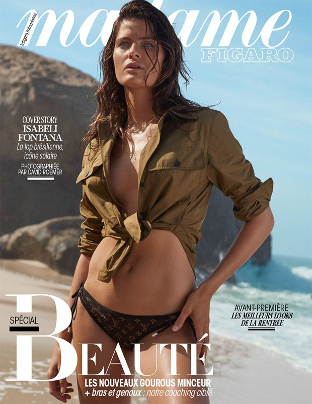 Isabeli Fontana Poses in Louis Vuitton for Madame Figaro Cover Story (20 pics)
