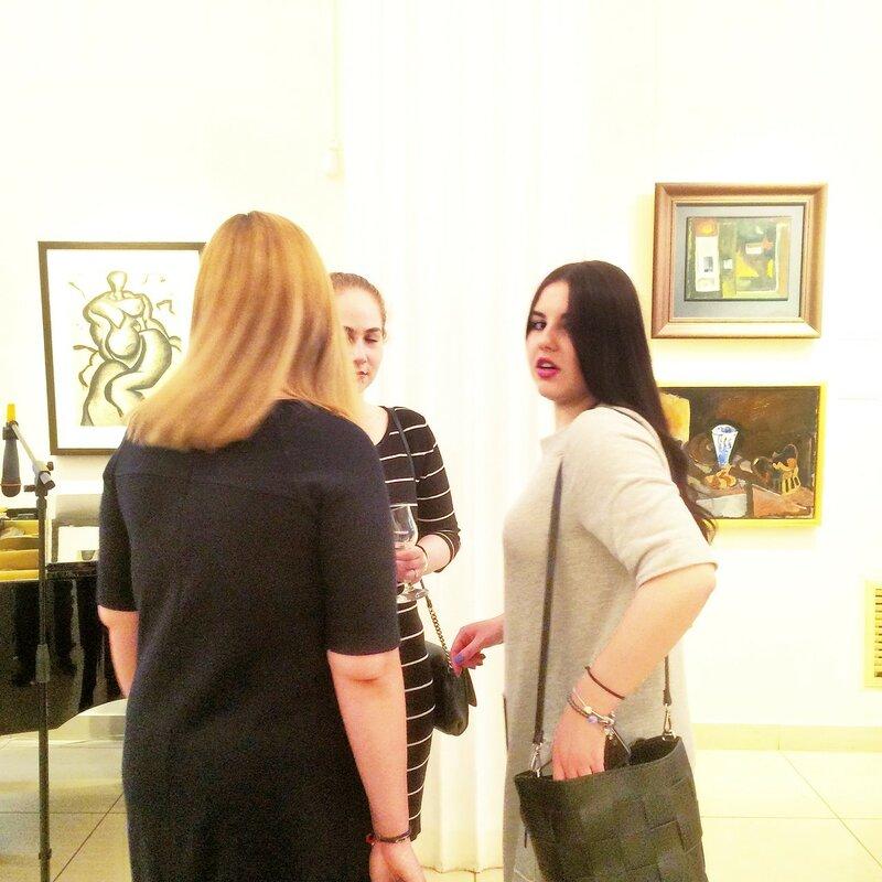 Третий приступ к выставке Новичкова