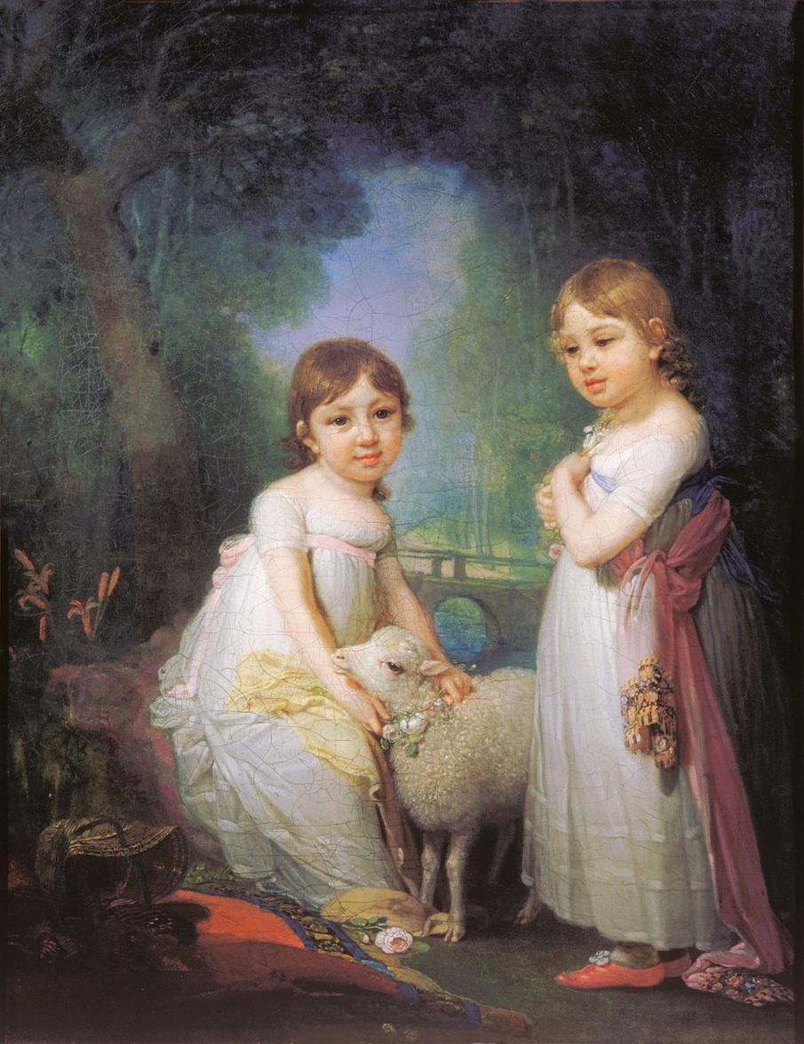 Владимир Лукич Боровиковский,1757-1825-русский художник,мастер портрета.
