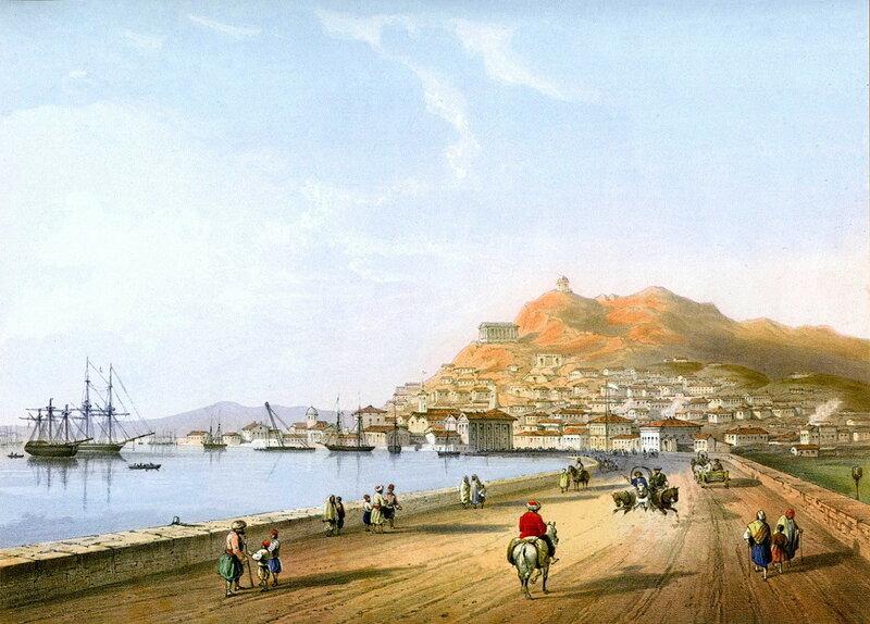 Карло Боссоли. Керчь. 1840-42 гг.
