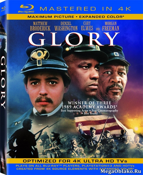 Доблесть / Слава / Glory (1989/BDRip/HDRip)