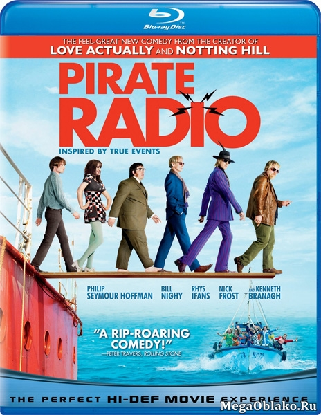 Рок-волна / The Boat That Rocked / Pirate Radio (2009/BDRip/HDRip)