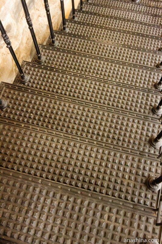 Чугунная лестница, Национальный музей Республики Карелия, Петрозаводск