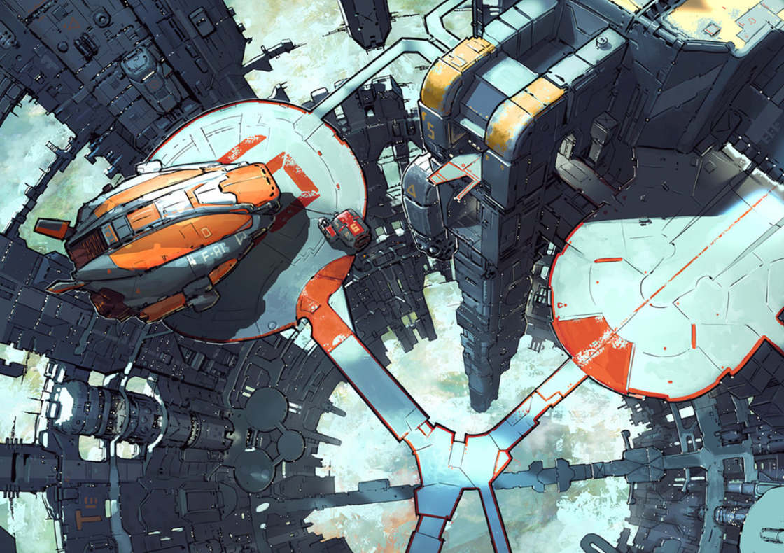 Dystopie - L'univers sombre et futuriste de Jaroslaw Marcinek
