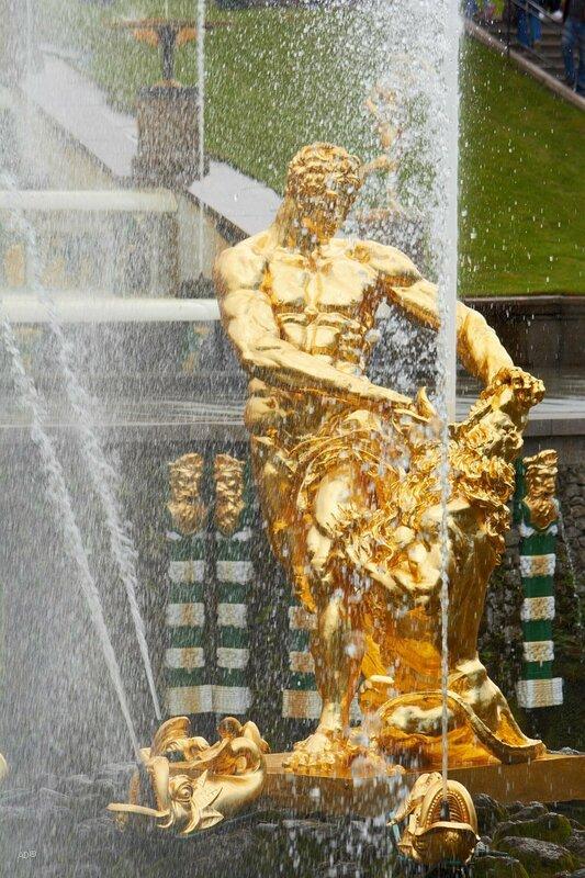 Петергоф 2017 - Большой каскад