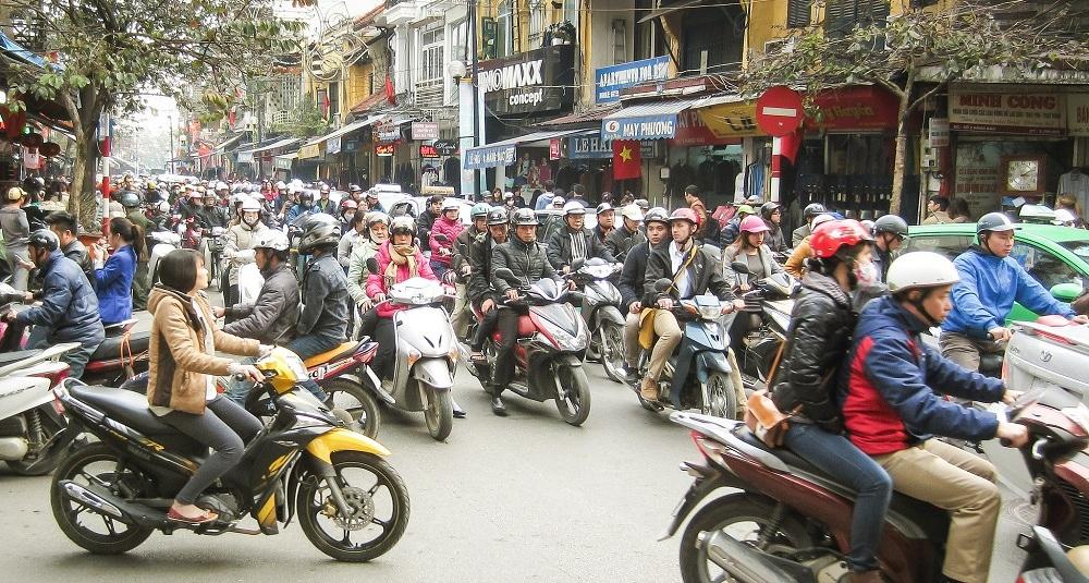 В столице Вьетнама собираются полностью запретить мотоциклы к 2030 году