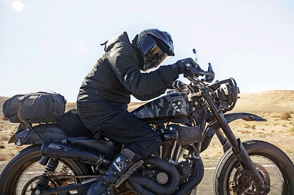 El Solitario MC: кастомы Harley-Davidson Sportster