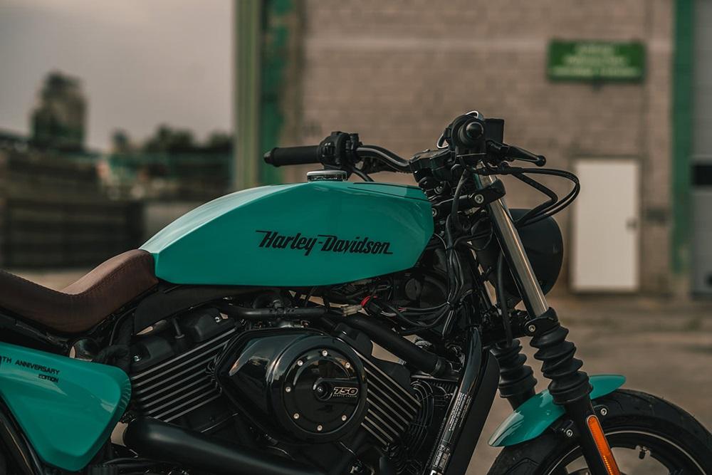 NCT Motorcycles: кастом Harley-Davidson Street 750