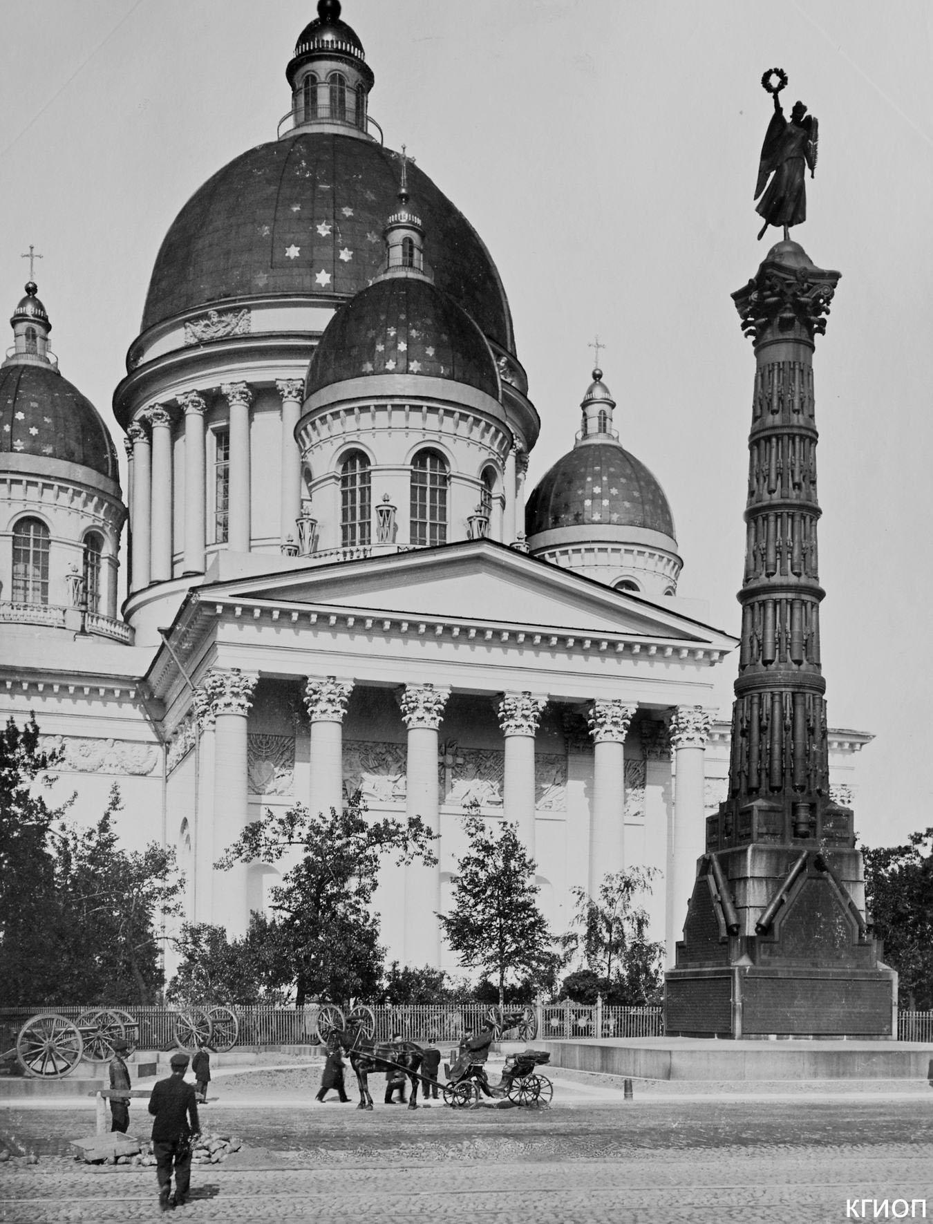 02. Колонна Славы. Общий вид.1900-е годы