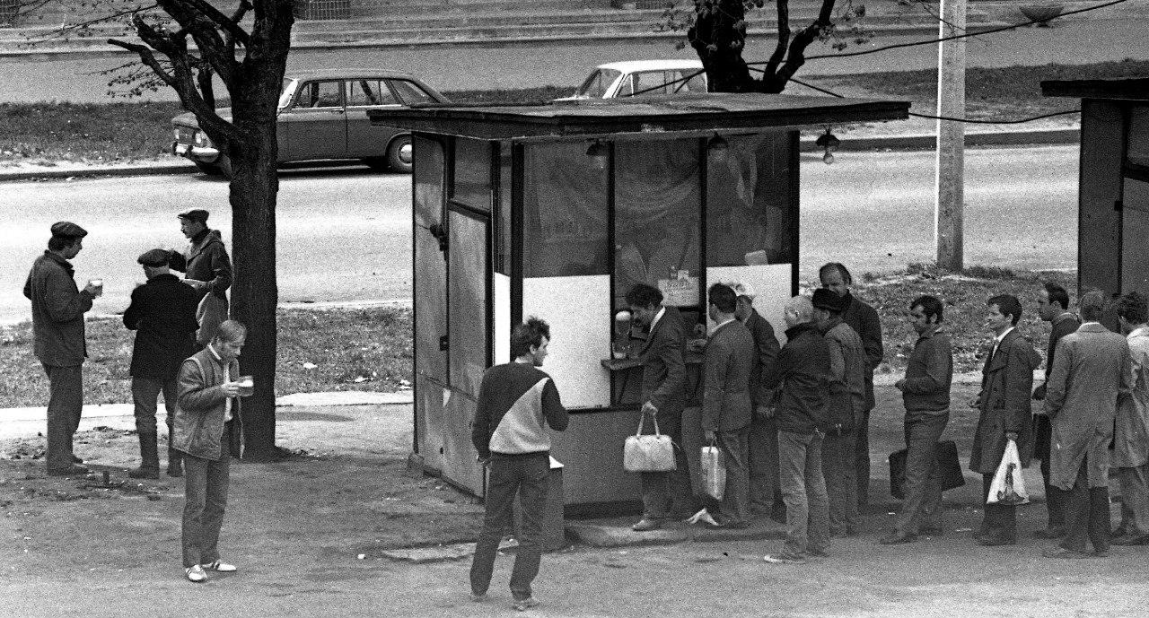1970-е. На пивную тему