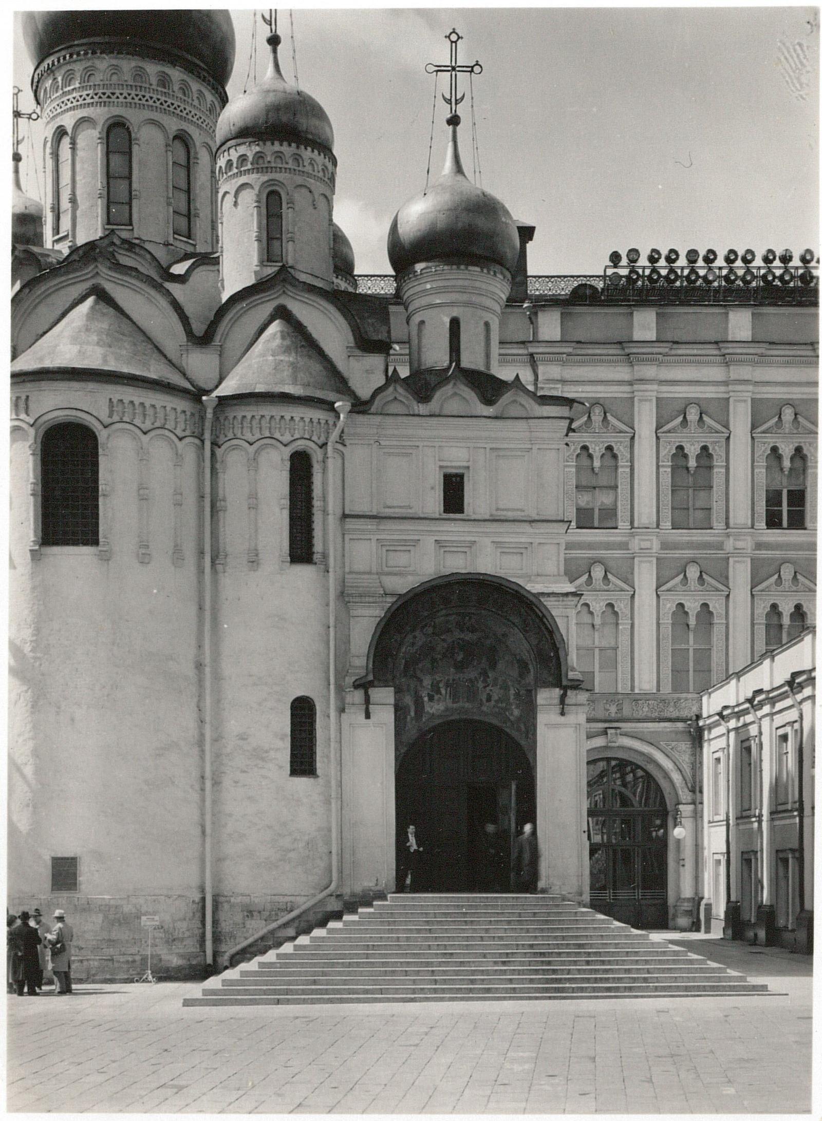 Кремль. Благовещенский собор и Большой кремлевский дворец