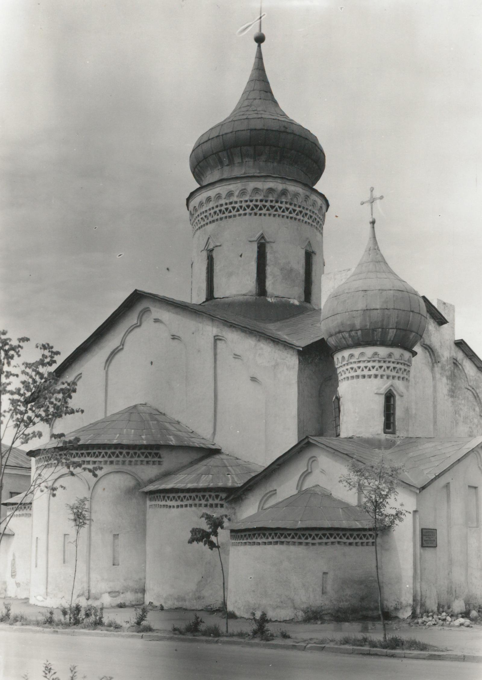Псков. Церковь Николы со Усохи