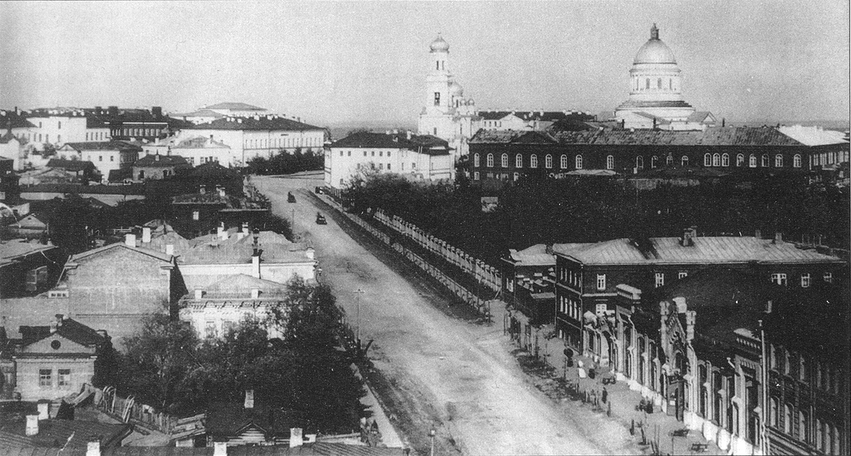 Вид Московской улицы с Вознесенского собора