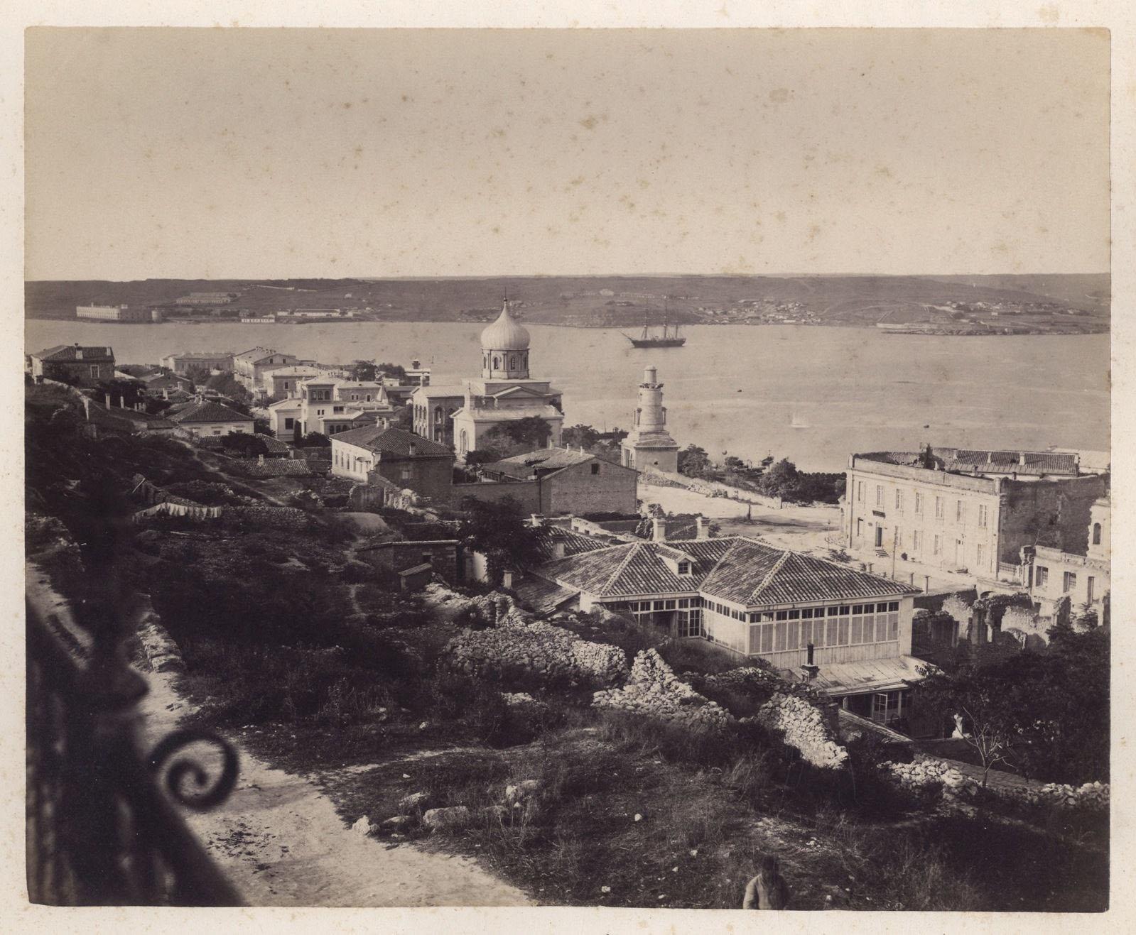 Вид на Севастополь. 1875-1885