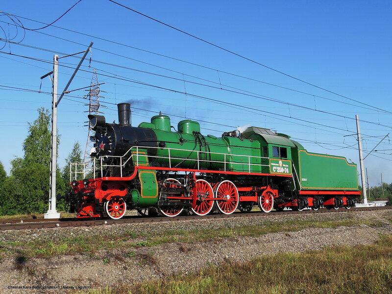 паровоз Су-250-74 _440