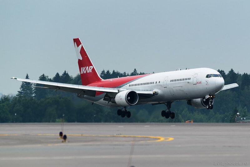 Boeing 767-38A/ER (VP-BDI) Ikar 197_D802009