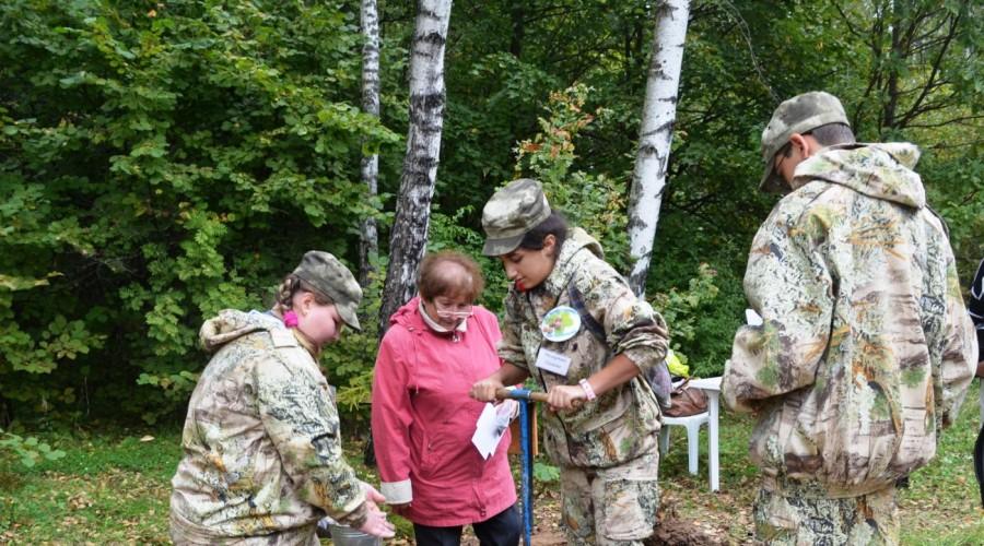 Юные лесоводы Юхновского района одержали победу на областном тематическом слете