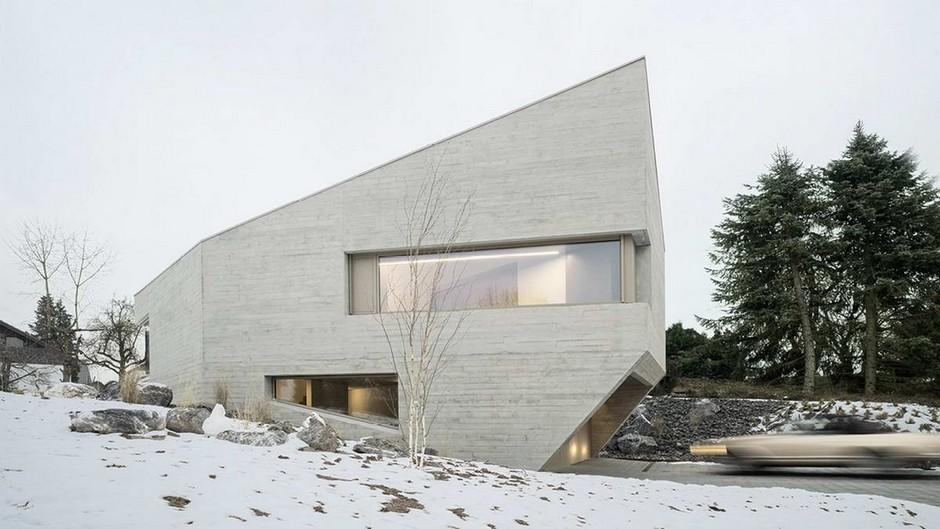 Дом из бетона в Германии