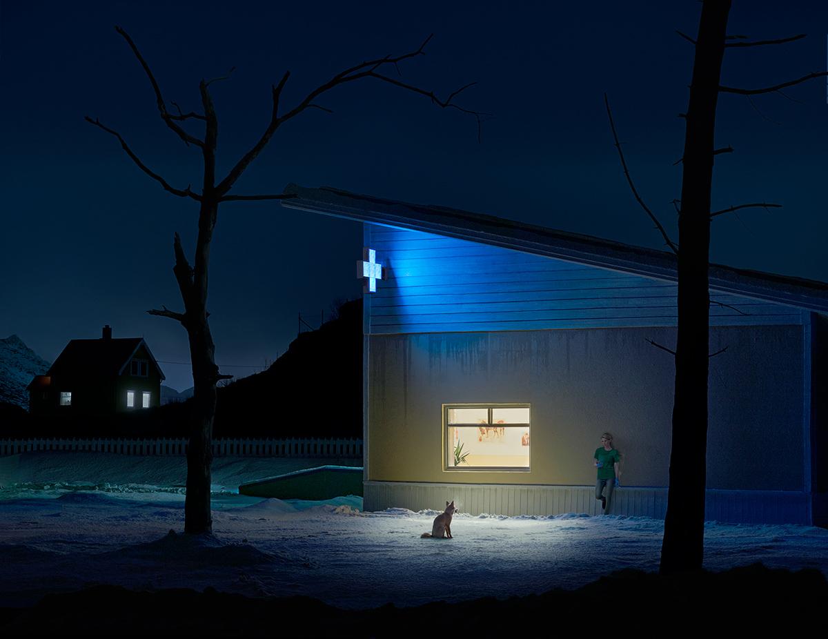 Ночная жизнь на снимках Jan Pypers