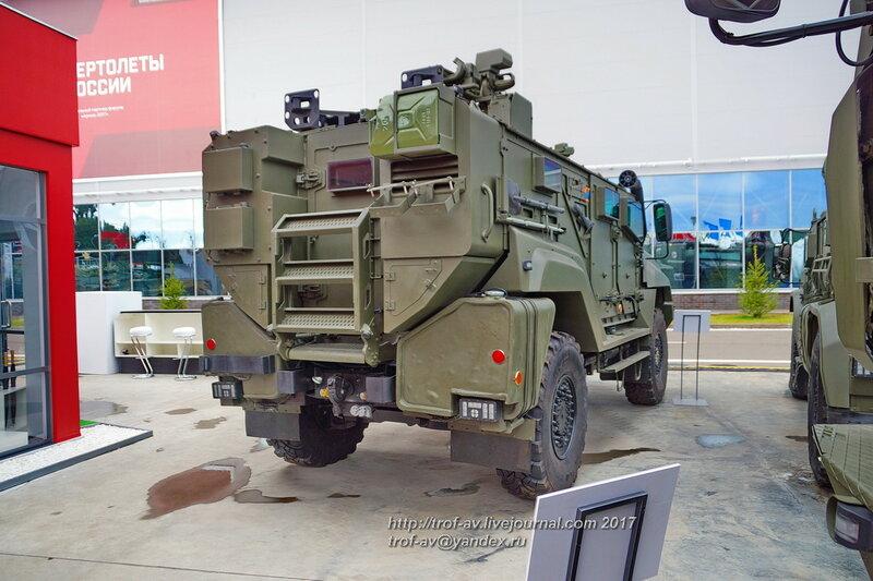 Бронеавтомобиль Тайфун К-53949, форум Армия-2017