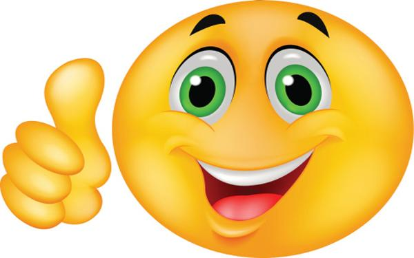 С Днем улыбки! Улыбается зеленоглазый смайл