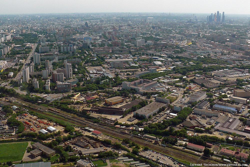 Москва Телебашня панорама