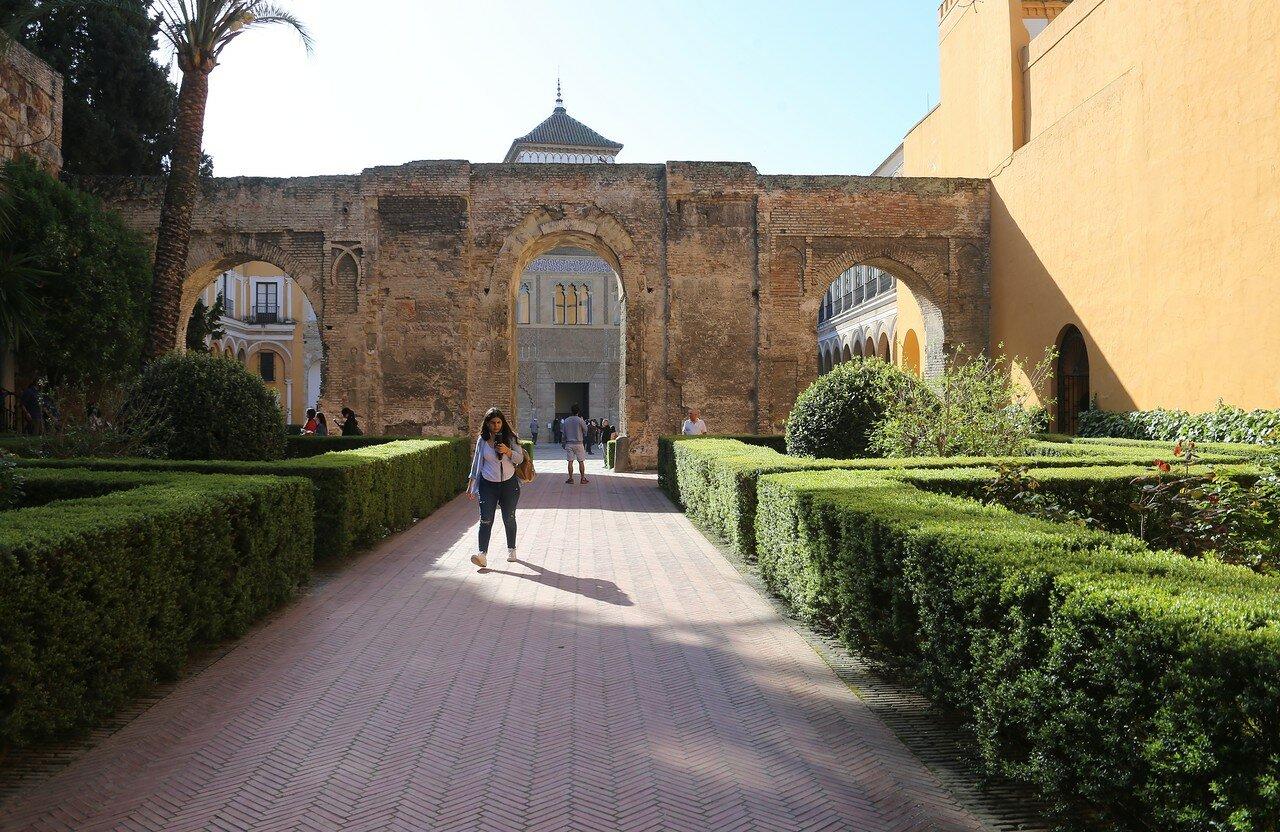 Puerta del León, Royal Alcázar, Seville