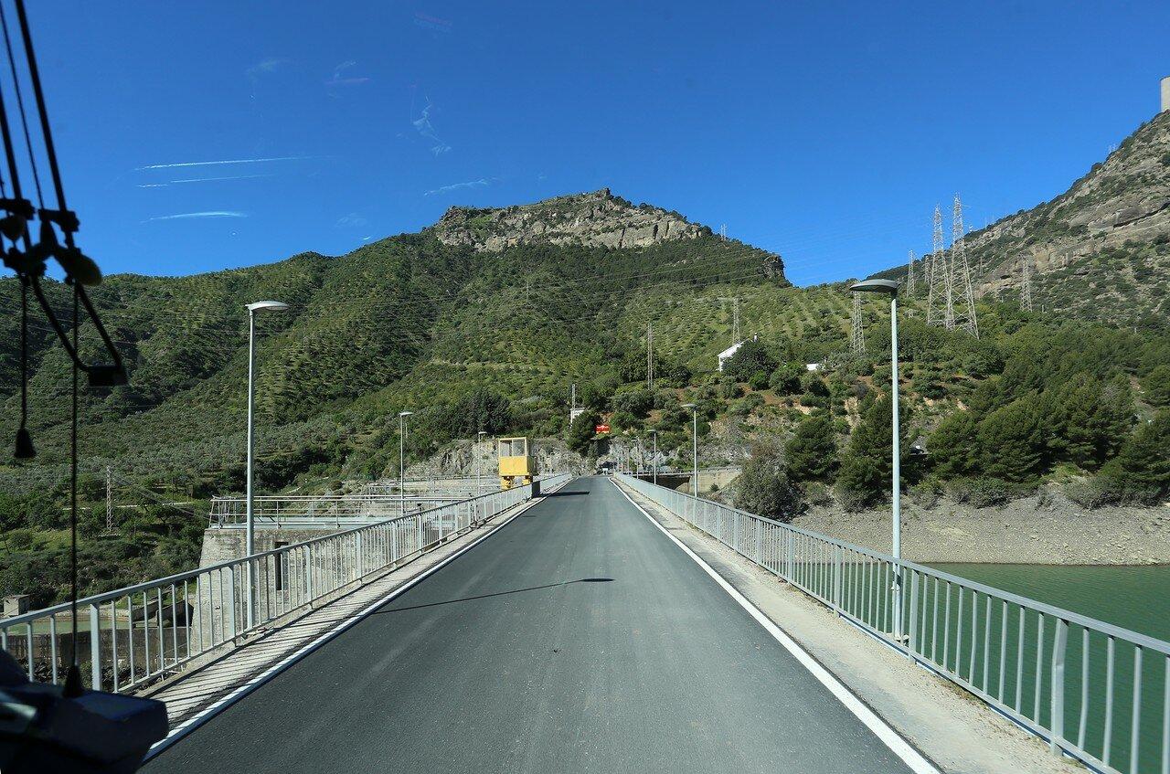 Dam of the Tajo de La Encantada (Tajo de la Encantada Dam)