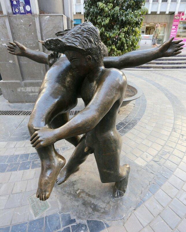 Малага. Площадь Унсибай (Plaza de Uncibay)