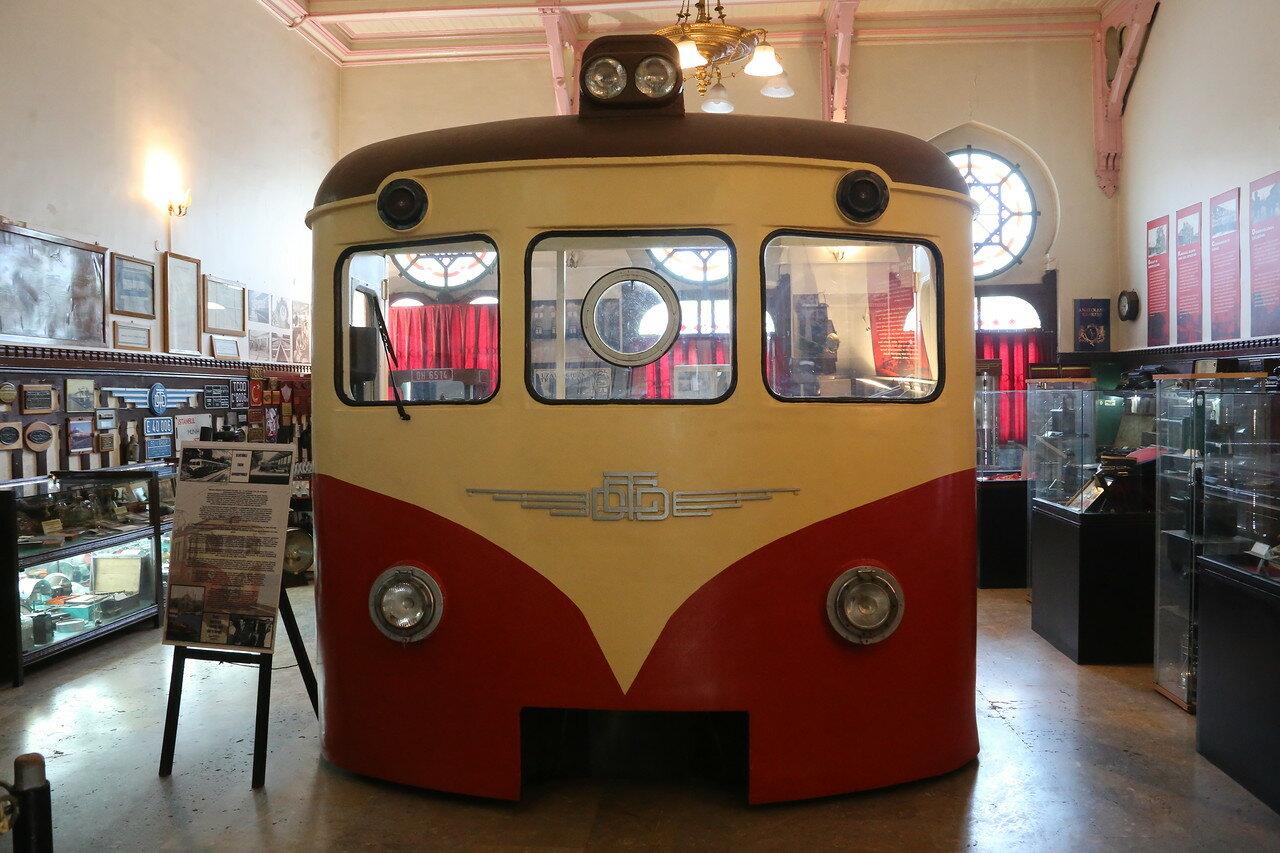 Стамбульский железнодорожный музей (İstanbul Demiryolu Müzesi)