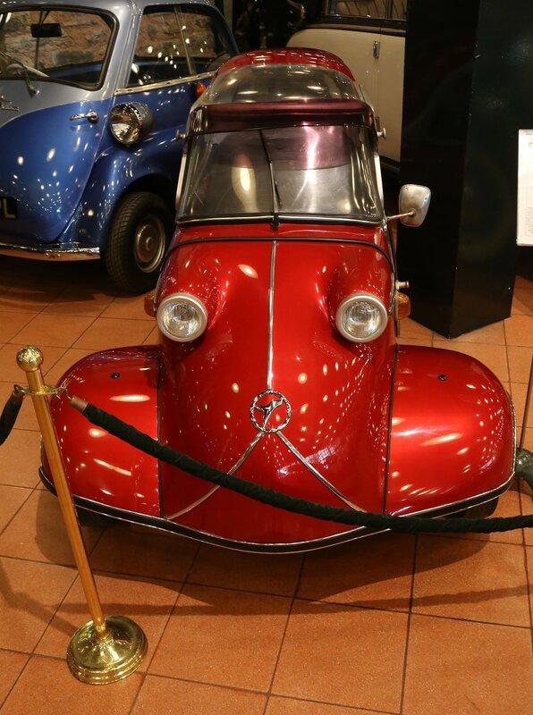Стамбул. Музей Рахими Коча. Messerschmitt KR 200 1960 года
