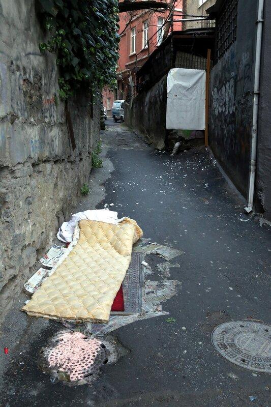 Istanbul, Beyoglu.  Aga Külhanı Sokak Street