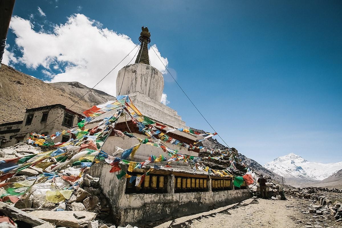 21. Ступы в Тибете распространены повсеместно. Здесь их называют «чортен». Они далеко не всегда таки