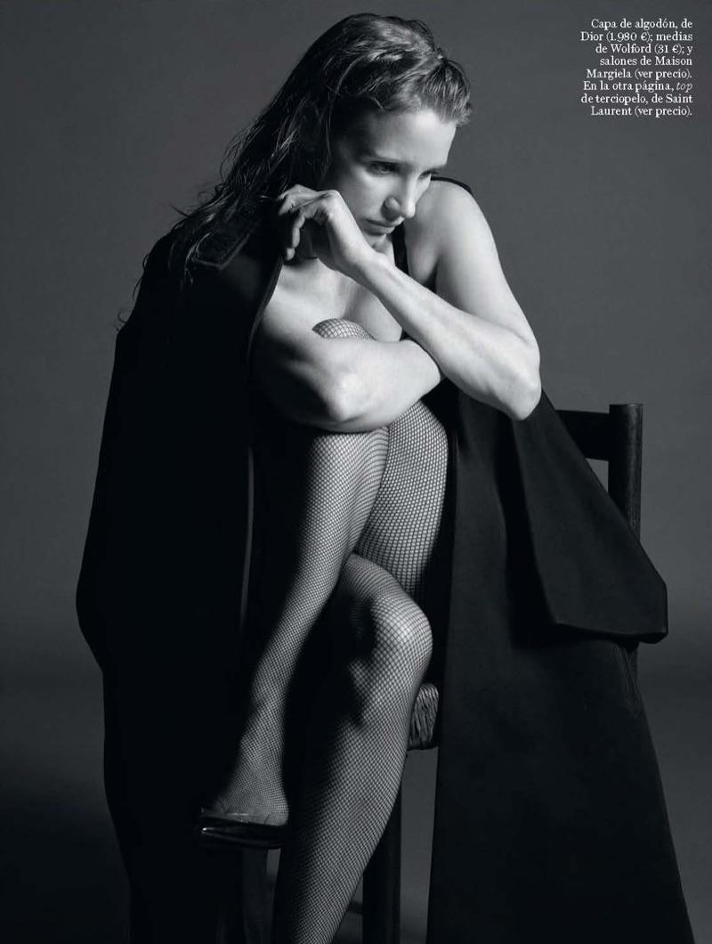 Джессика Честейн в испанском Vogue